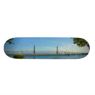 Scenic Arthur Ravenel Bridge Custom Skate Board