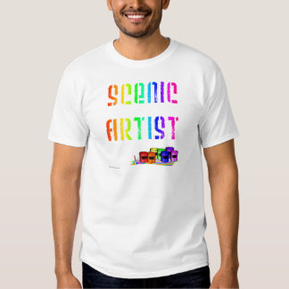Scenic Artist (For Light Colored Products) Tee Shirt