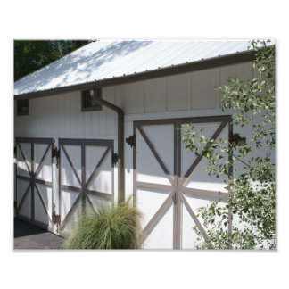 Scenic Barn Doors Photo Print
