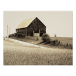 scenic barn image posters