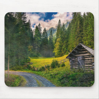 Scenic Bavaria Countryside Mouse Mat