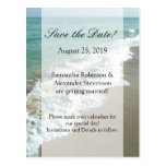 Scenic Beach Destination Wedding Save the Date