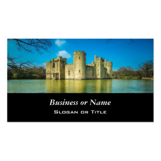 Scenic Bodiam Castle in East Sussex England Pack Of Standard Business Cards