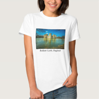 Scenic Bodiam Castle in East Sussex England T Shirt