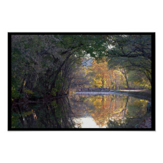 Scenic C&O Canal, Maryland Poster