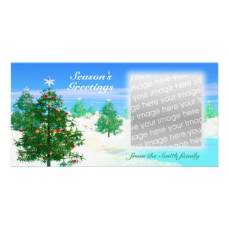 Scenic Christmas Day Card