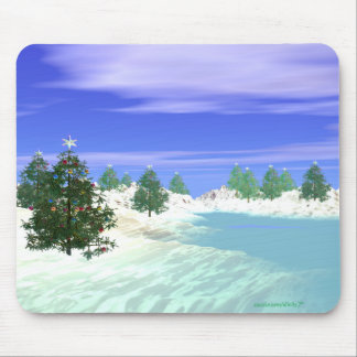 Scenic Christmas Mouse Mat