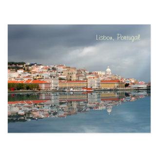 Scenic cityscape of Lisbon, Portugal Postcard