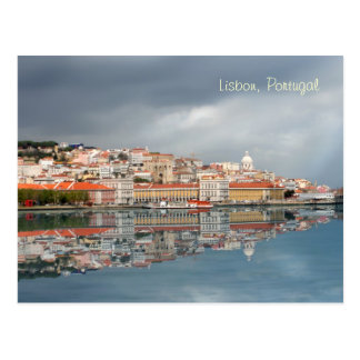 Scenic cityscape of Lisbon Portugal Postcards