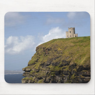 Scenic Cliffs of Moher and O'Brien's Tower. Mouse Mat