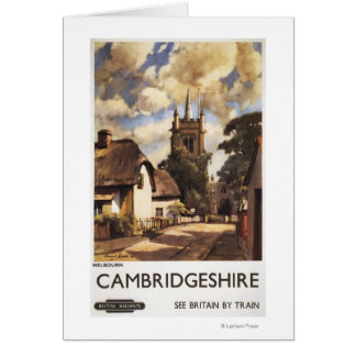 Scenic Country View British Railways Poster Card
