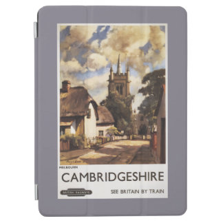 Scenic Country View British Railways Poster iPad Air Cover