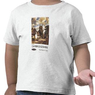 Scenic Country View British Railways Poster T Shirts