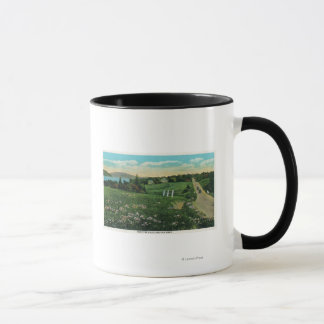 Scenic Country View, Over the Hills and Far Mug