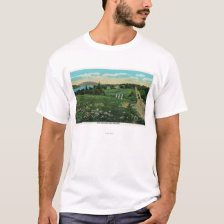 Scenic Country View, Over the Hills and Far T-Shirt