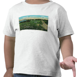 Scenic Country View, Over the Hills and Far Tshirts