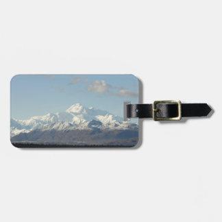 Scenic Denali Mountains Travel Luggage tag