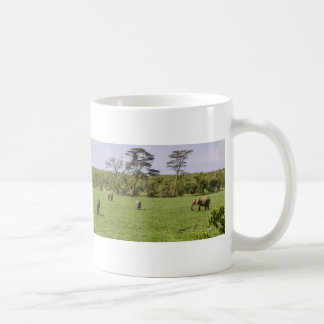 Scenic Elephant Panorama Coffee Mug