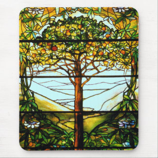 Scenic Fruit Tree and Hills  Vertical Mousepad