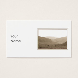 Scenic Hills. Business Card