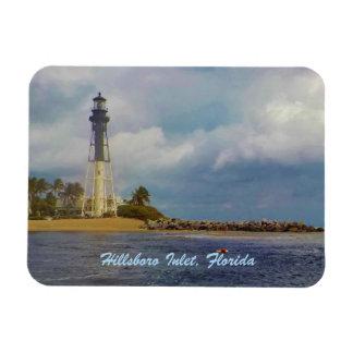 Scenic Hillsboro Inlet Florida Rectangular Photo Magnet