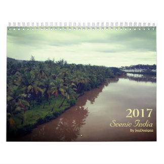 Scenic India 2017 Calendar