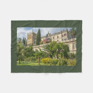 Scenic Isola-del-Garda Fleece Blanket