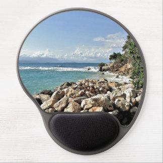 Scenic Labadie Coastline Gel Mouse Mat