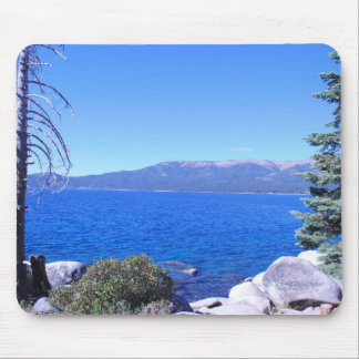 Scenic Lake Mouse Pad