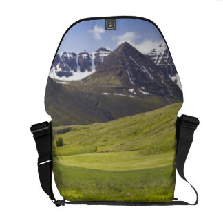 Scenic landscape of Svarfadardalur valley Commuter Bags
