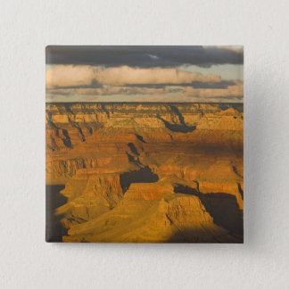 Scenic landscape of the south rim of the Grand 15 Cm Square Badge