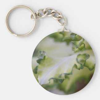 scenic leaf key ring