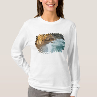 Scenic McWay Falls tumbles into the beach and T-Shirt