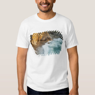 Scenic McWay Falls tumbles into the beach and Tee Shirt
