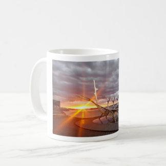 Scenic Midnight Icelandic Summer Sunset Mug