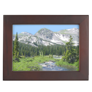 Scenic Mountain Views Keepsake Box