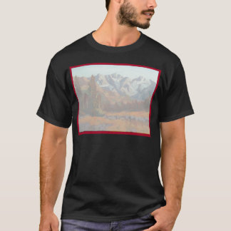 Scenic Mountain Wedding Invitation Set T-Shirt