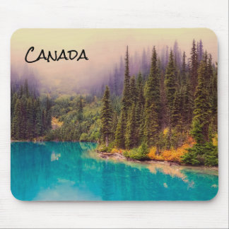 Scenic Northern Landscape Rustic Canada Mouse Mat