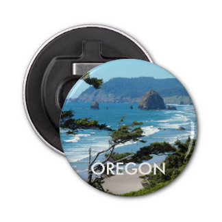 Scenic Oregon Coastline Photo Bottle Opener