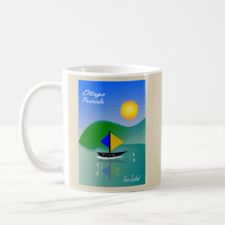 SCENIC OTAGO PENINSULA DUNEDIN NEW ZEALAND COFFEE MUG