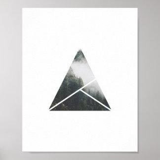 Scenic Photo Poster | Misty Pines Art