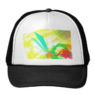 Scenic picture art trucker hat