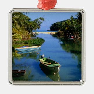 Scenic river near Ocho Rios in Jamaica Christmas Ornament
