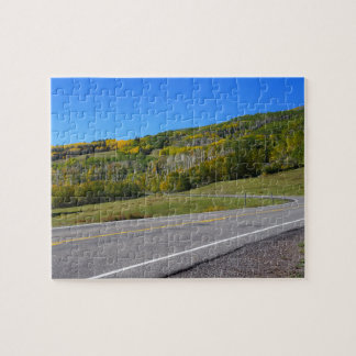 Scenic road in Escalante, utah Jigsaw Puzzle