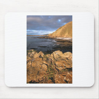 Scenic rocky coast New Zealand Mouse Pads