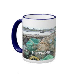 Scenic Sea Views Easdale Seil Island Scotland Ringer Mug