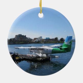 Scenic Seaplane in Victoria Christmas Ornament