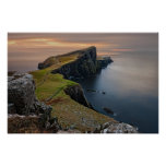 Scenic Seascape from Scotland Poster