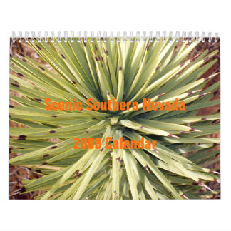 Scenic Southern Nevada 2008 Wall Calendars