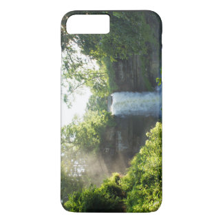 Scenic Themed, Lush Green Vegetation Grows Around iPhone 7 Plus Case
